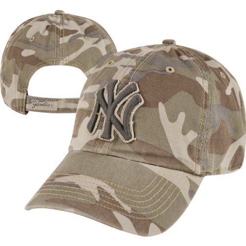 Yankees Camo - New York Yankees Camo '47 Brand Tarpoon Adjustable Hat