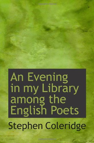 An Evening in my Library among the English Poets pdf epub
