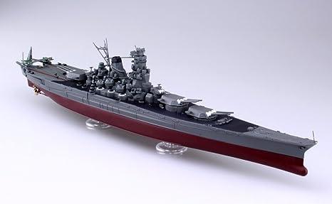 amazon com aoshima full hull 52648 ijn battleship musashi 1 700