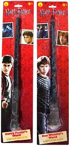 [Harry Potter and Ron Weasley Magic Wands Bundle - 2 items] (Ron And Hermione Costumes)