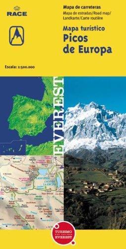 Mapa turístico de Picos de Europa Mapas turísticos/ serie amarilla: Amazon.es: Cartografía Everest: Libros