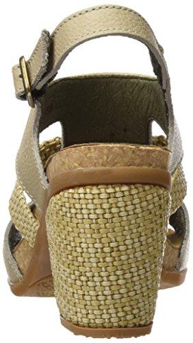 Femmes El Naturalista N5031 Molles Mola De Grain Talons Avec Les Orteils Ouverts Gris (piedra)