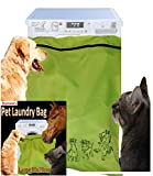 Joymaney Pet Laundry Bag For Washing Machine - Jumbo size - The Pet Wash Bags are Ideal For Filtering Horse, Dog hair and Pet Fur; like blankets, towels and petwear