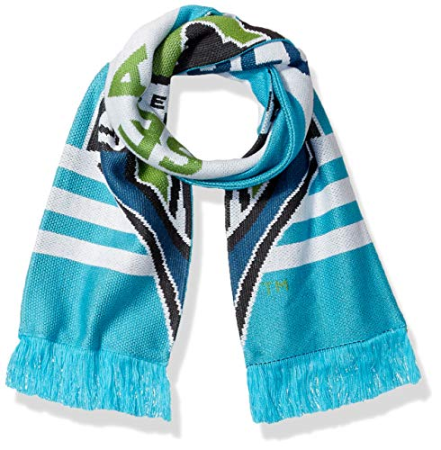 adidas MLS Seattle Sounders Fc 1st Kick Jersey Hook Jacquard Scarf, One Size, Green ()