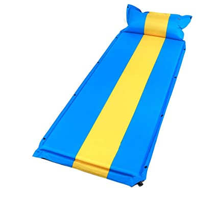 Forall Ms Self Inflatable Sleeping Mat With Pillow Camping
