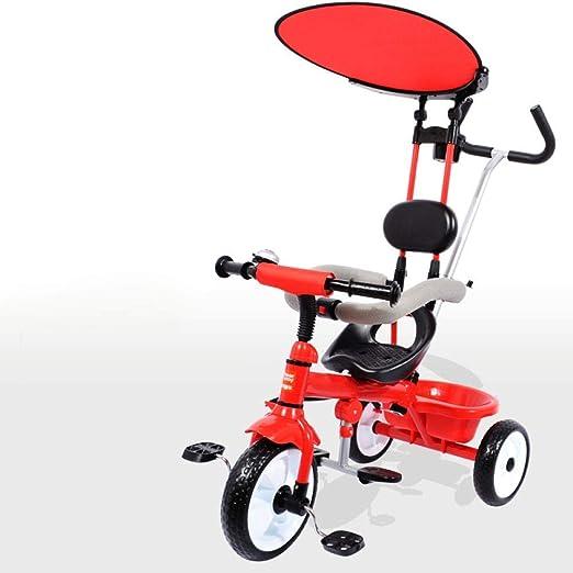 Triciclo para niños Triciclo manual 3 en 1 para niños 12 meses a 6 ...