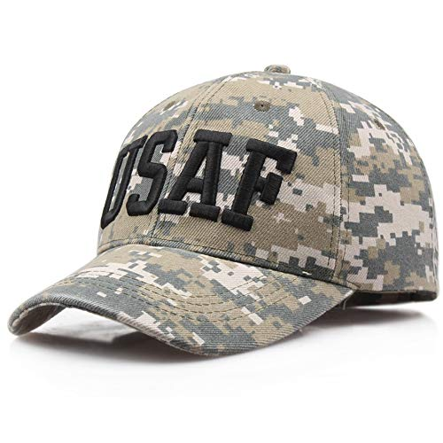 shinyis America Milltary US Air Force Cap Embroidered Baseball Hat Camouflage, ()
