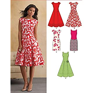 New Look U06094A Misses Dresses Sewing Pattern