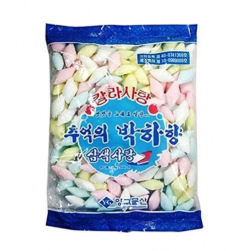 3 Colors Peppermint Candy 750G 박하사탕 by Life Confectionary