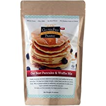 Gluten-Free Prairie Our Best Pancake & Waffle Mix 22 Ounce (Pack of 1) Certified Gluten-Free Purity Protocol, All Natural, Whole Grain, Vegan, No Rice Flours, High in Protein and Fiber