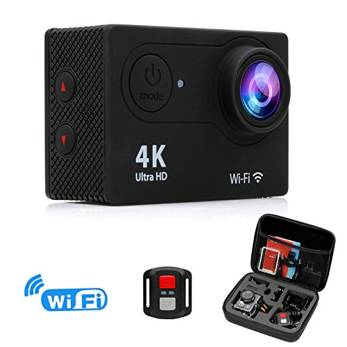 FITFORT Action Camera 4K WiFi Ultra HD...