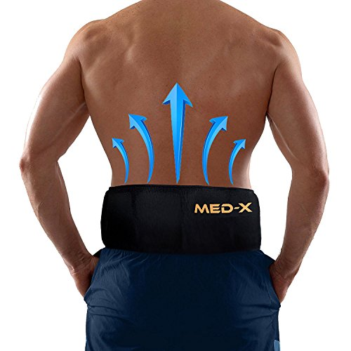 Back Pain Cold Ice Pack Belt Brace Therapy For Lower Lumbar   Sciatic Nerve Pain Relief Degenerative Disc Disease Coccyx Tailbone Pain Reusable Gel Flexible Medical Grade