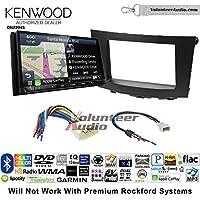 Volunteer Audio Kenwood Excelon DNX994S Double Din Radio Install Kit with GPS Navigation Apple CarPlay Android Auto Fits 2010-2013 Suzuki Hizashi