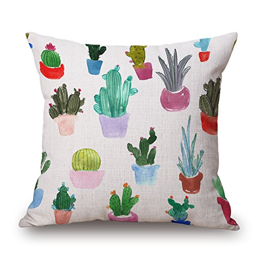 Bakeriest Cactus Decorativa Cojín Almohada Imprimir Espacio ...