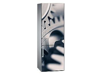 Kühlschrank Aufkleber : Amazon oedim vinyl stickers zahnräder kühlschrank aufkleber