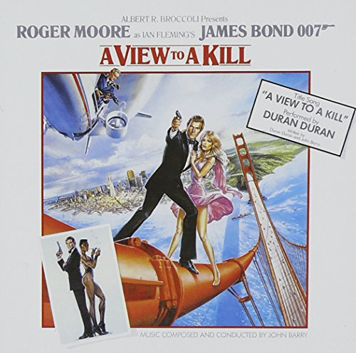 A View to a Kill soundtrack CD by John Barry. Including Duran Duran's hit single