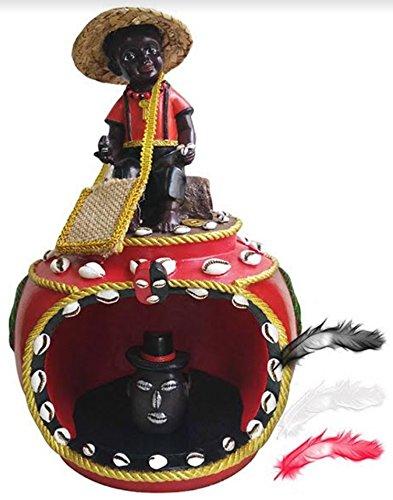 12 House of Elegua Casa Statue Santeria Siete Potencias African God Powers