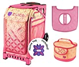 zuca bag with frame - Zuca Sport Bag - Sunset with Gift Lunchbox and Seat Cover (Pink Frame)