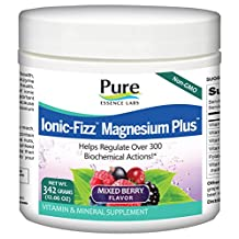 Pure Essence, Ionic-Fizz Magnesium Plus - Mixed Berry Flavor (342 grams (12.06 oz.))