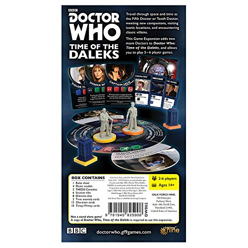 Doctor Who: Time of The Dalek 5th & 10th Doctors Expansion