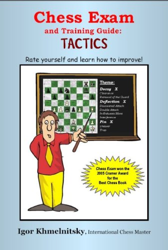 Chess Exam and Training Guide: Tactics: Rate Yourself and Learn How to Improve (Chess Exams) pdf epub