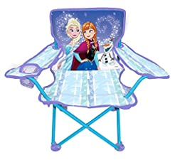 Frozen Camp Chair for Kids, Portable Cam...