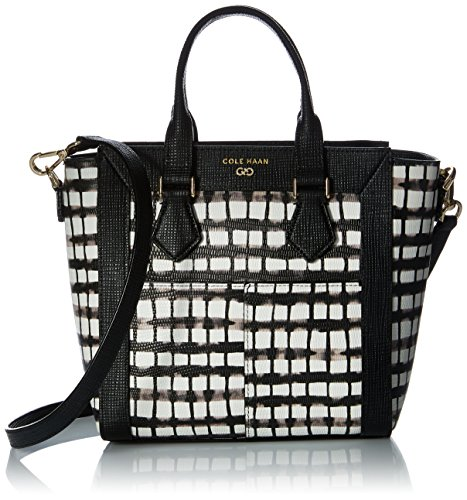 Emboss Satchel Cole White Mini Abbot Black Snake Plaid Haan gwvZqR