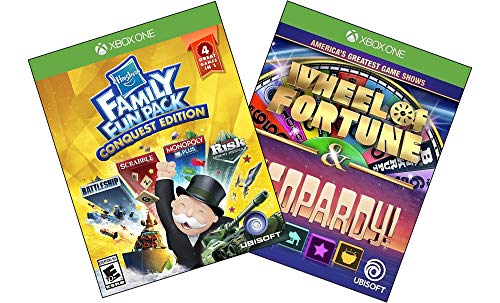 - Xbox One 2 Pack - Family Fun Pack Conquest Edition, America's Greatest Game Shows