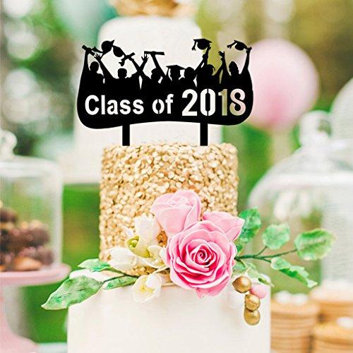 O&D Class Of 2018 Congrats Graduation Cake Topper - Grad Par