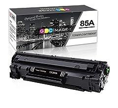 GPC Image Cartuchos de Tóner Compatible para HP CE285A 85A (2 ...