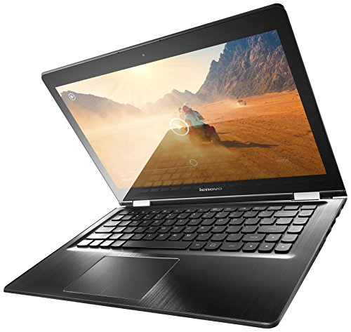 "Lenovo Flex 3 2-in-1 14"" Touch-Screen Laptop Intel Core i7 8GB Memory 1TB+8GB Hybrid Hard Drive Black 80JK0021US"