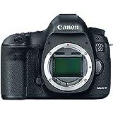 Canon EOS 5D Mark III - Cámara digital (Auto, Nublado, Modos personalizados, Luz de día, Flash, Fluorescente L, Sombra, Tungsteno, Película, Imagen única, Presentación de diapositivas, Electrical, Batería, Juego de cámara SLR, TTL)