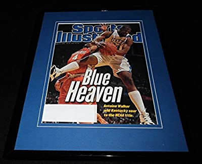 1996 Kentucky Wildcats National Champs Framed ORIGINAL Sports Illustrated Cover