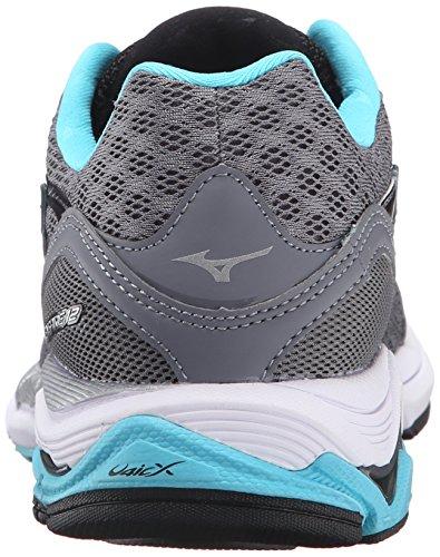 Mizuno Women's Wave Inspire 12-w Running Shoe, Quiet Shade-Capri, 7 B US by Mizuno (Image #2)