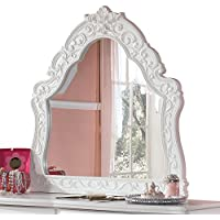 Signature Design by Ashley B188-37 Exquisite Collection Bedroom Mirror, White