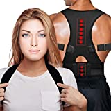 Back Brace Posture Corrector,Magnetic Therapy Improves Posture and Provides Lumbar Support for Lower