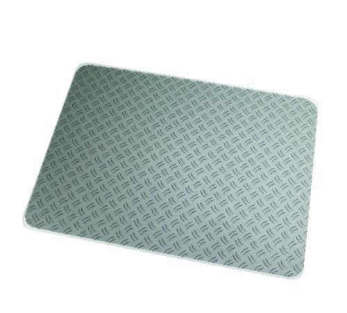 "Colortex Ultimat Photomat, General Purpose Floor Mat for Hard Floors, Rectangular, Gray Ripple Design, 36"" x 48"" (FC229220ECRI) -  Floortex"