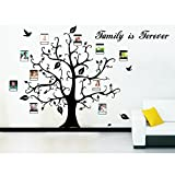 Delma 100'' x 60'' Large Size PVC Wall Sticker Home Decoration Family Tree Vinyl Decal Vinyl Art Decor (100''x60'')