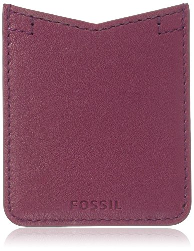 Fossil Phone Card Case Sticker Wine Wallet