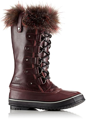 Sorel Womens Joan Di Artico Boot Vino Ricco / Nero