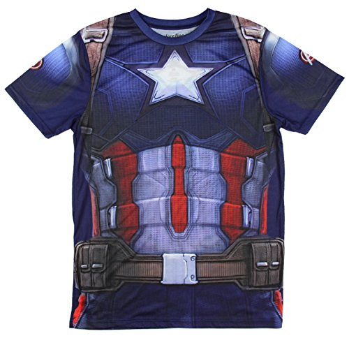 Captain America Civil War Sublimated Costume T-Shirt
