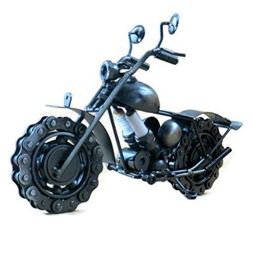 Die Cast Road King Metal Motorcycle Sculpture