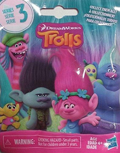 DreamWorks Trolls Surprise Mini Figure Series 3 Blind Bag - Package includes 1 Mini Figure