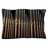 CafePress - Church In Gentofte - Standard Size Pillow Case, 20''x30'' Pillow Cover, Unique Pillow Slip