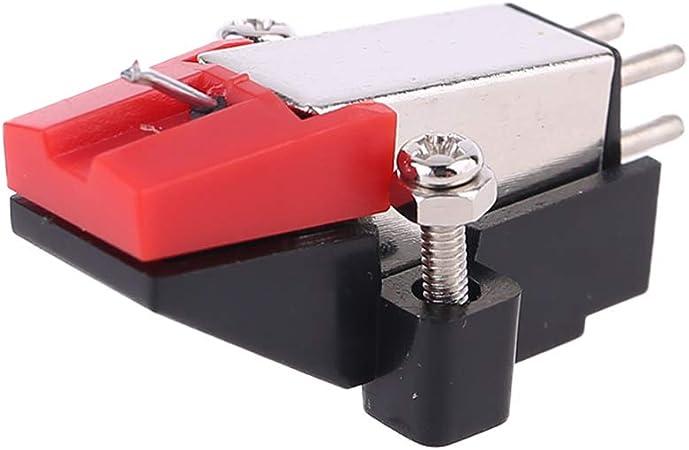 PENG Tocadiscos Tocadiscos Doble imán móvil Estéreo Reproductor de ...