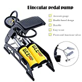 Portable Floor Pump for Car Motorcycle Bike Tires Foot Air Pump Inflator With Pressure Gauge