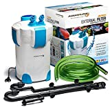 Water Filter Aquarium Aquaflow Technology AEF-302 External Filter System for Aquarium - 3 phases. Free Media
