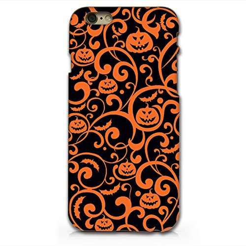 Halloween Pumpkin Hard Black Plastic Phone Case for iphone 6 _ SUPERTRAMPshop (iphone 6 black) ()