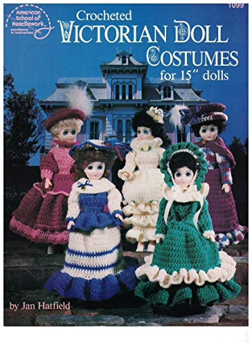 Crochet Victorian Doll Costumes for 15