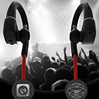 Auriculares deportivos EMEBAY con Bluetooth 4.1, IPX7 impermeable ...